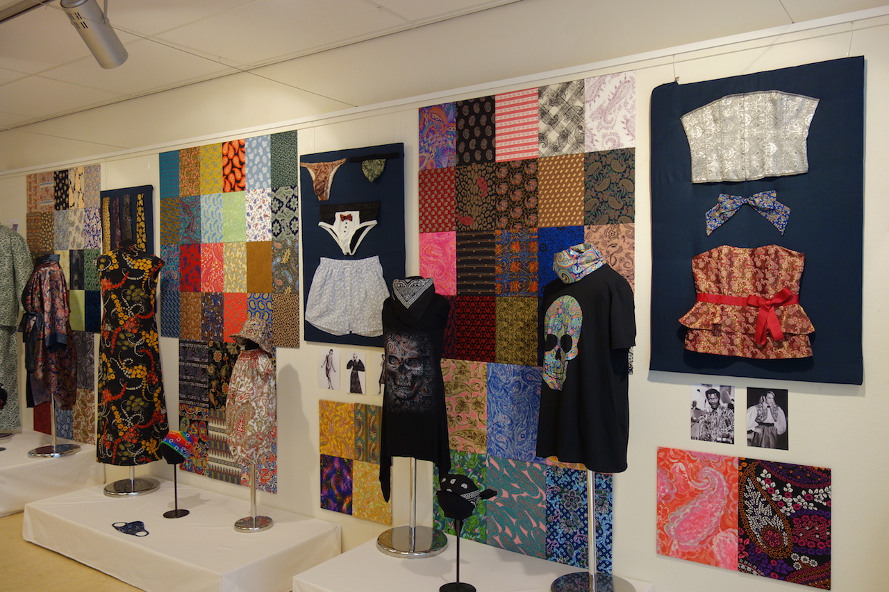 Gallery exhibition at the Textile Research Centre, Leiden, the Netherlands, March-August 2021.