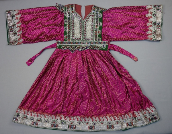 Wedding dress from Afghanistan, early twenty-first century.
