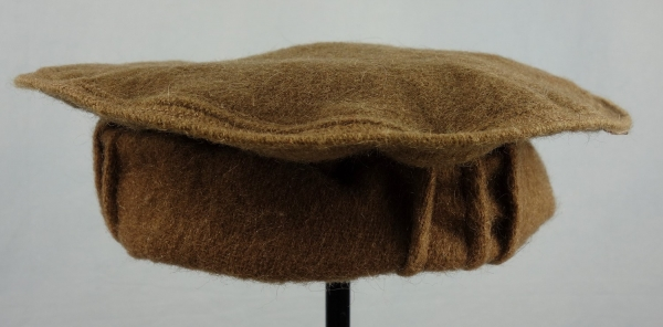 A Nuristani cap, or pakol, from Afghanistan. Late twentieth century.