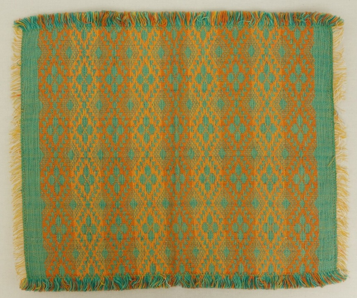 Sample of so-called Akhmim taqueté weave, Egypt, late 20th century.