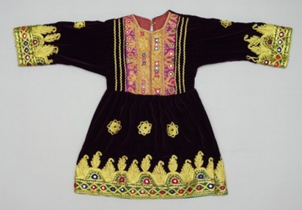Dress for a Pashtun girl, Afghanistan, early 21st century.