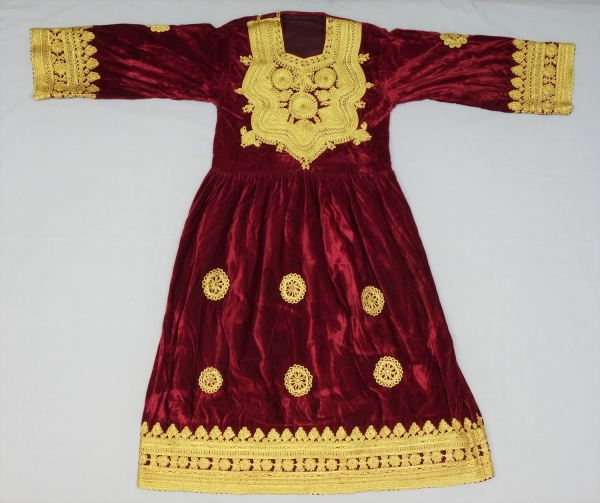 A festive dress for a Pashtun woman, late twentieth century.