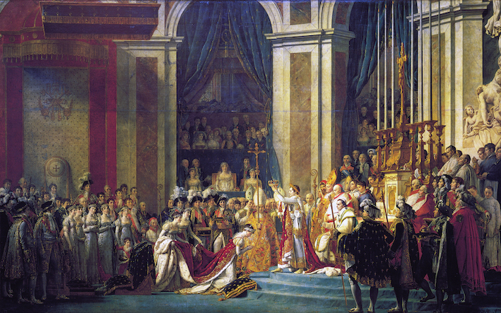 Jacques Louis David , The Coronation of Napoleon, 1804.
