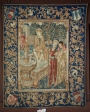 Susanna and the Elders. Tapestry, Tournai,  Belgium, c. 1500.