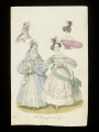 Fashion plate from St Petersburg, 1834.