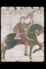 The Bayeux Tapestry: Prince Harold hunting. 11th century AD