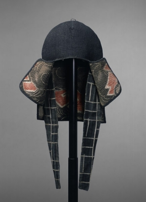 Fireman's hood from Japan, late 19th - early 20th century.