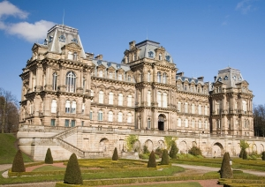 The Bowes Museum, in the town of Barnard Castle, County Durham, UK.