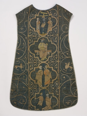 The Clare chasuble, England, late 13th century.