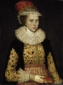 Portrait of Margaret Layton (c. 1590-1641), presumably by Marcus Gheeraerts.