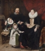 Family portrait of Cornelis de Vos, Antwerp, 1621.