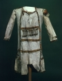 Native American leather tunic, early 17th century, Canada.