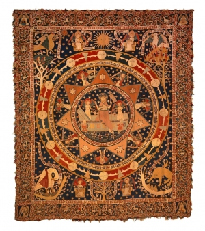 Osterteppich ('Easter Carpet') from Klosterlüne (?), Germany, AD 1504.