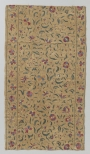 Fragment of a cotton and silk cloth from Iran or India, dated c. AD 1700.