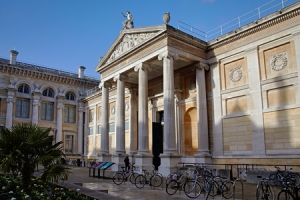 The Ashmolean Museum, Oxford, England.
