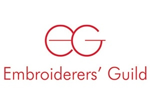 The Embroiderers' Guild logo.