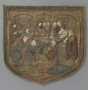 Hood of a cope, c. 1500-1525, Netherlands.