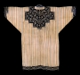 Embroidered tunic, Ainu, mid-19th century, Japan.