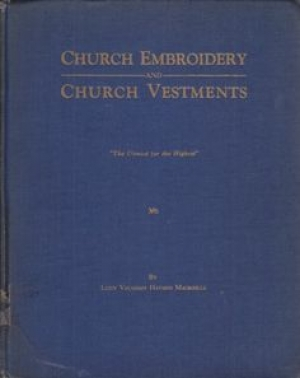 Cover of 'Church Embroidery and Church Vestments', 1939.