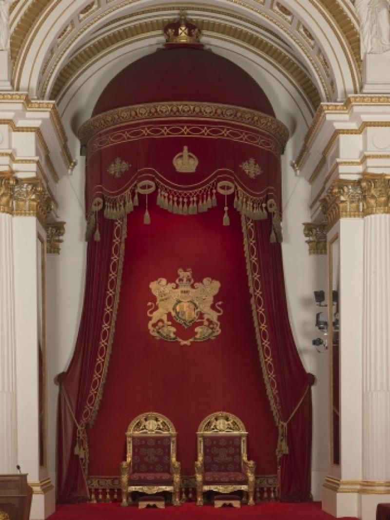 King George Vu0027s Throne Canopy