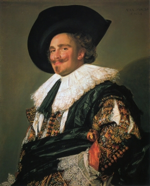 The Laughing Cavalier, by Frans Hals (c. 1582-1666)