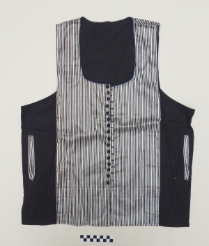 Waistcoat from Egypt with a front made of atlas cloth.
