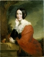 Lady Marian Alford, 1817-1888, painted by Sir Francis Grant in 1841. On display at Belton House, Lincolnshire.