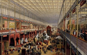 The Great Exhibition, Crystal Palace, London 1851.