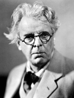Photograph of William Butler Yeats, 1865-1939.