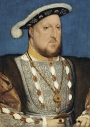 Painting of Henry VIII, by Hans Holbein  the Younger, painted c. 1536.