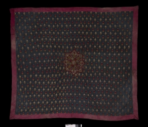 Large shawl from Gujarat, India, c. AD 1900.