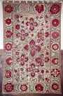 Large embroidered cover from Uzbekistan, late 19th century.