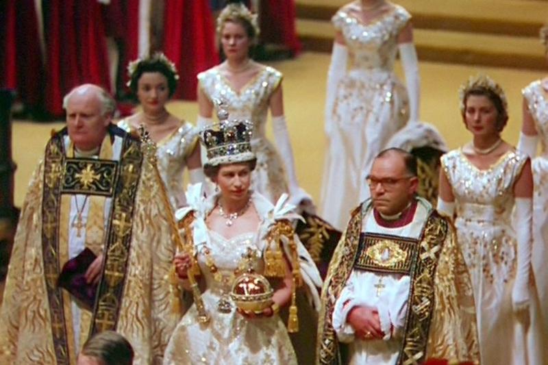 British Coronation Garments