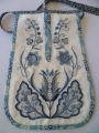 Example of Deerfield embroidery.