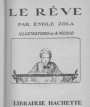 Cover of a children's edition (1936) of Emile Zola's Le Rêve.