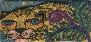 Modern example of punch needle embroidery.