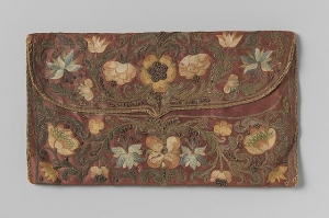 Letter pouch of Cornelis Calkoen, Dutch ambassador to Constantinople, made in 1727.
