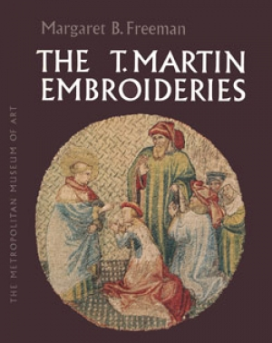 Cover of Margaret Freeman's book on the St Martin's embroideries (1968).