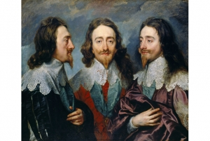 Triple portrait of Charles I, by Anthony van Dyck. c. 1635/1636.