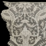 Example of Argentan tape lace, mid-18th century, Chinoiserie design. France.