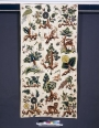 Bed panel with crewel work, England, late 17th century.