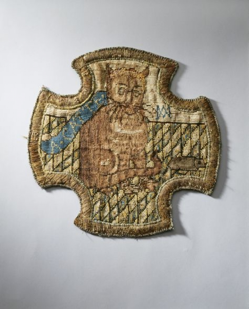 Catte Embroidery Of Mary Queen Of Scots
