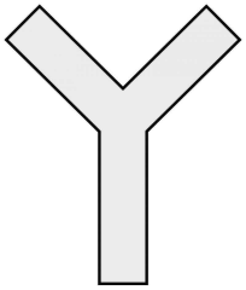 Y-Shaped Cross