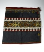 Embroidered bidang (woman's skirt) from Borneo, Indonesia, late 19th century.