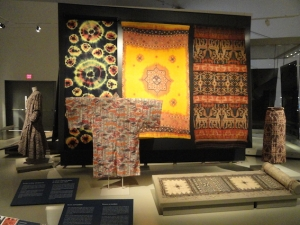 Textile department, The Royal Ontario Museum, Toronto.