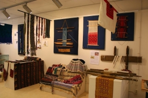 Exhibition 'Weaving the World' at the TRC, Leiden, 2014.