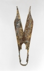 Pair of bronze shears, allegedly from northeastern Turkey, 2nd century AD.