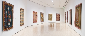 Exhibition of Ralli quilts, Michigan State University, 2014.
