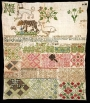 The Jane Bostocke Sampler, England, 1598.