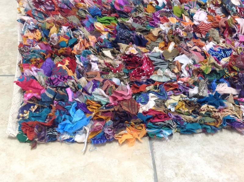 Example Of A Colourful Rag Rug